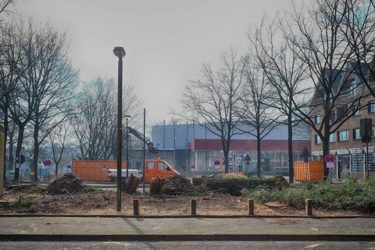 Freie Sicht auf die Stadthalle, breitere Parkbuchten und weniger Gestrüpp: Neue Visionen für die Stadt