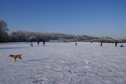 Eislaufen – mit unschlagbarer Kulisse