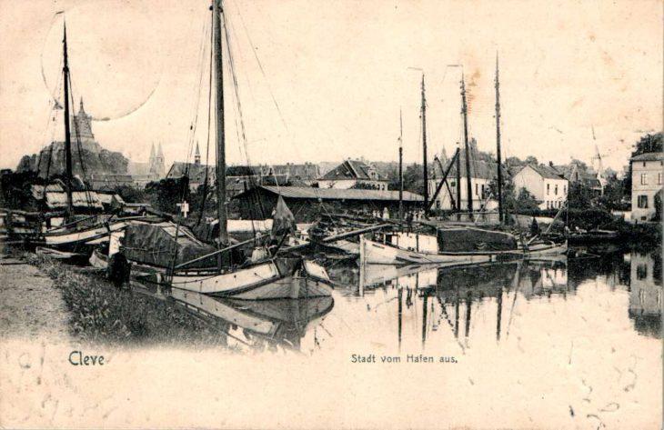 Cleve, das einstige Hamburg der Binnenschifffahrt