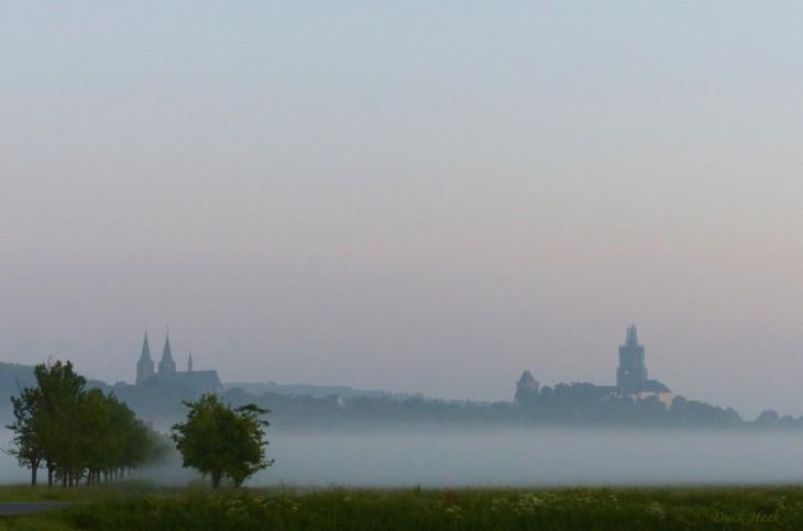 Birnen und Burg im weißen Schleier (Foto © Duck Heek)