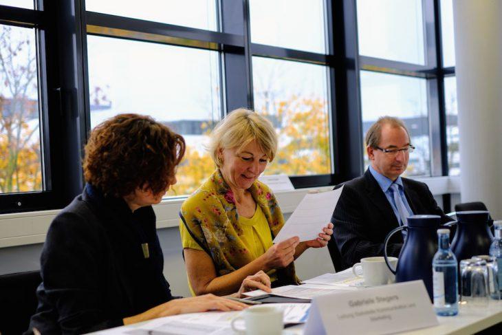Gute Laune beim Betrachten der aktuellen Zahlen: Dr. Heide Naderer