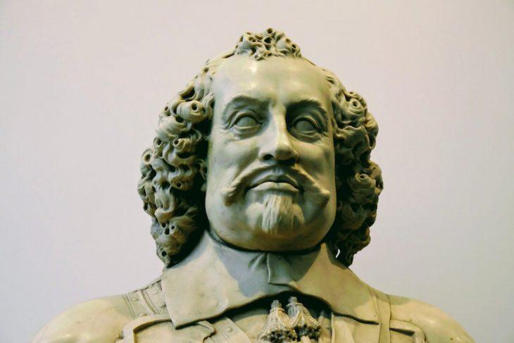 Prinz Johann-Moritz als Statue im Mauritshuis – abmontiert, um auf die Zeit des Sklavenhandels aufmerksam zu machen