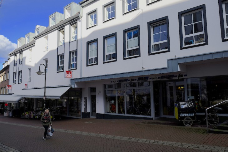 Geschäftshaus mit wohlklingendem Namen; Kirchbarg-Galerie