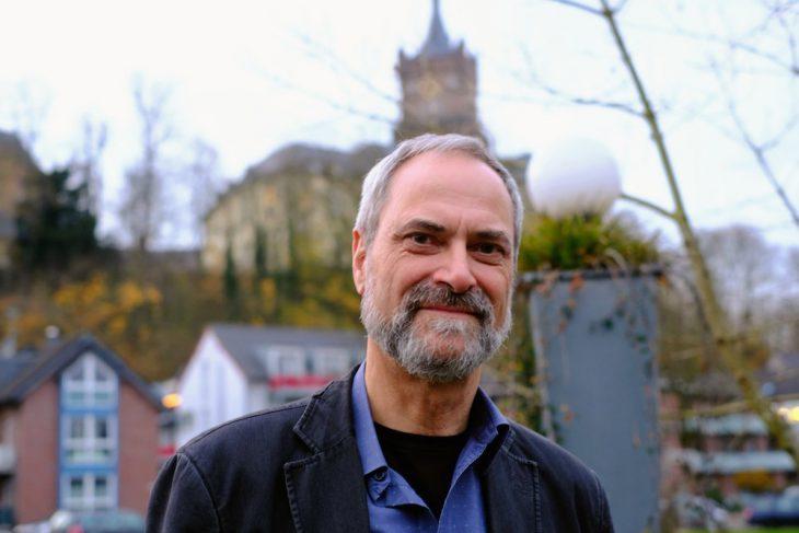 Kehrt der Schwanenburg den Rücken: Arno Neukirchen
