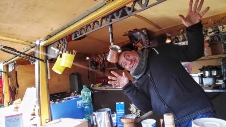 Kaffeebudenachsbruch: In Gefahr und großer Not war Nils Roth