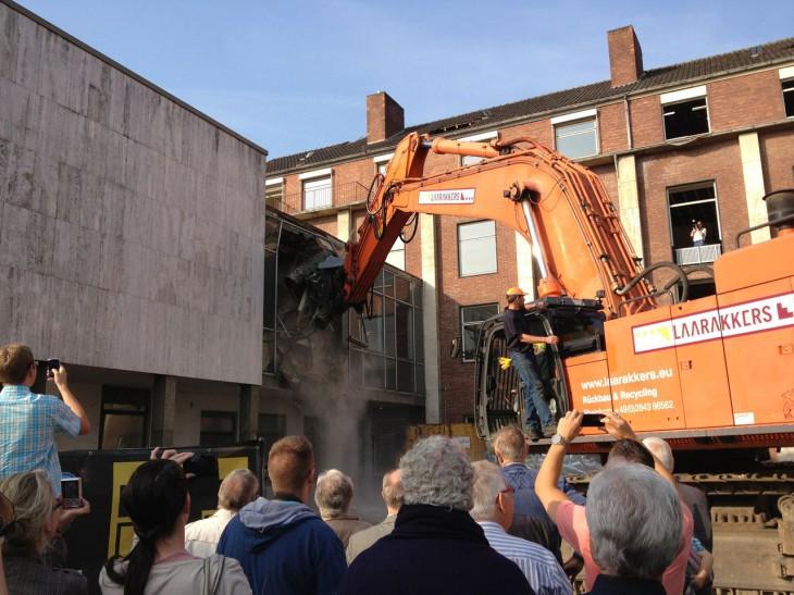 """""""Herr Bürgermeister, ich habe Ihr Rathaus beschädigt"""", scherzte der Architekt"""