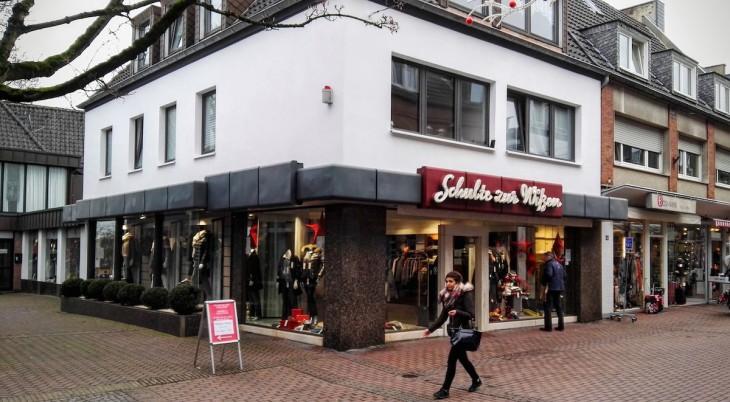 5 Generationen ein Fixpunkt in der Kavarinerstraße: Bekleidungshaus Schulte zur Wißen