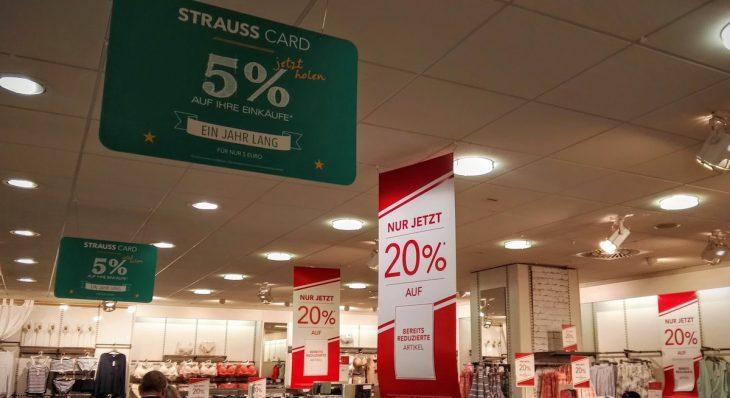 Prozente als Konzept: Strauss Innovation
