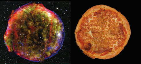 Mehrere Millionen Grad heiße Materie