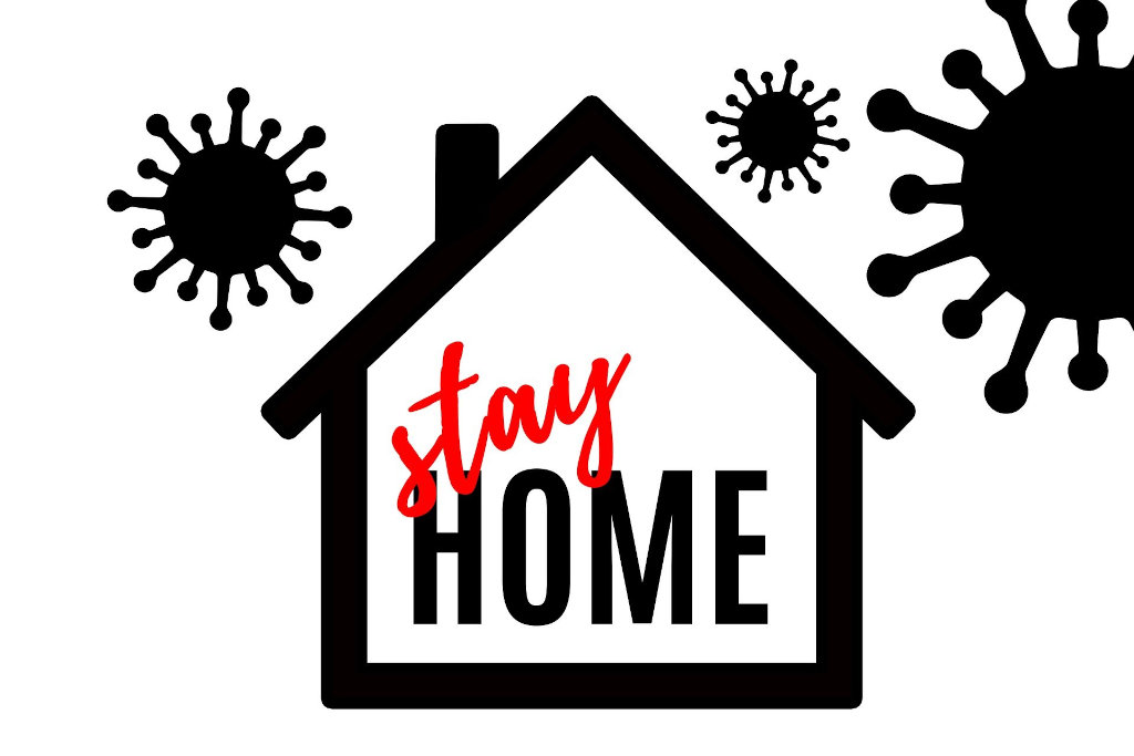 Stay home - Bleibt zu Hause