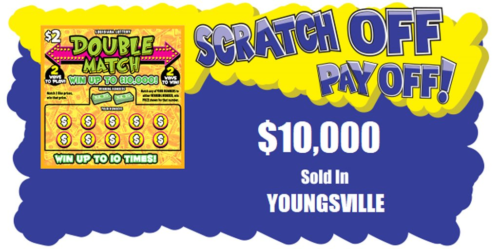 Youngsville area popping up with big lottery jackpot winning