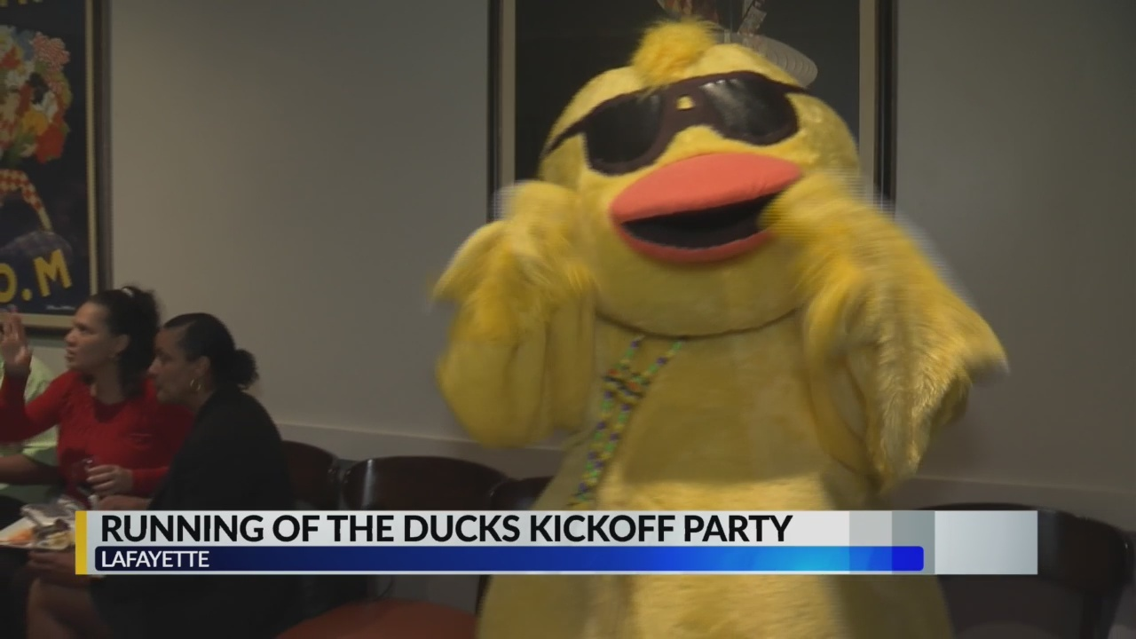 2019 Great Acadiana Running of the Ducks kickoff