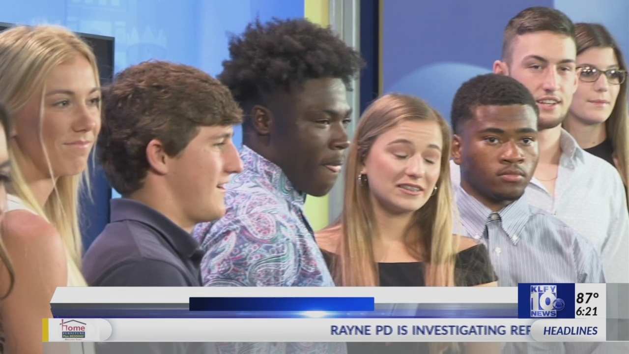 KLFY ATHLETE OF WEEK BANQUET
