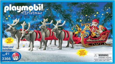 Playmobil Set 3366 Usa Santas Magic Sleigh Klickypedia