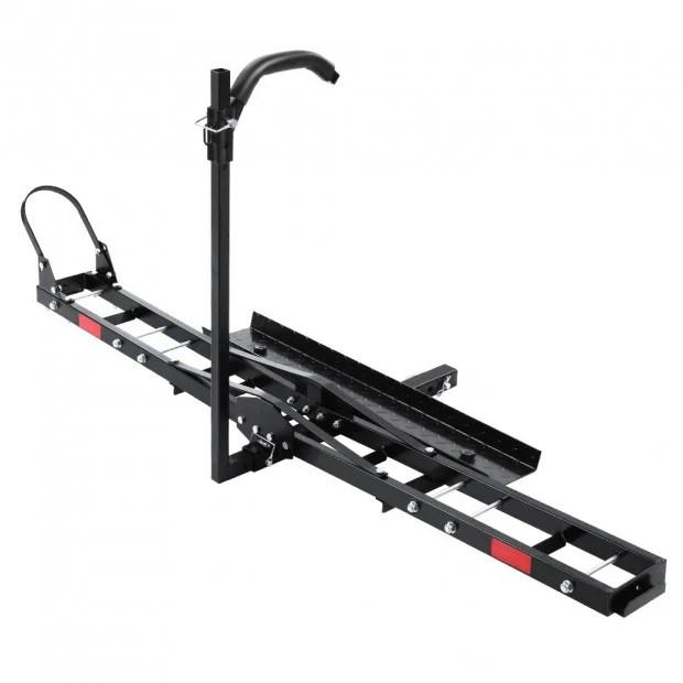 motorcycle carrier rack 2 towbar arm rack dirt bike ramp steel