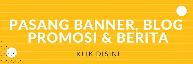 Pemasangan Banner dan Blog Promosi / Berita | KlikDirektori