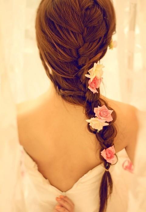 moderna frizura za venčanje