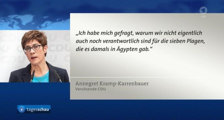 2019-05-23 Statement CDU AKK zu Rezo-Video