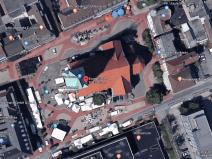 Marktplatz an der Pauluskirche aktuell