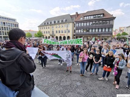 Schülerdemo Fridays For Future, 24.05.2019, (C) Andreas G-Mantler