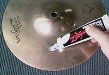 how to clean tarnished drum cymbals