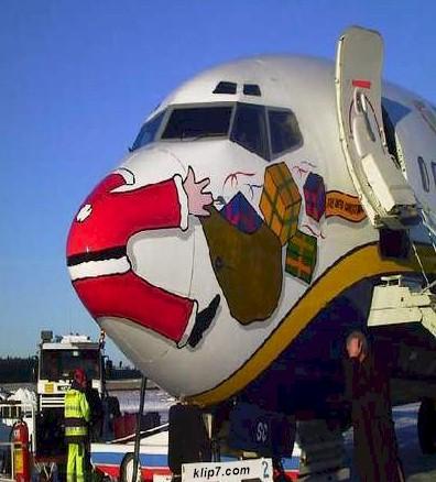 humor navidad- chistes avions