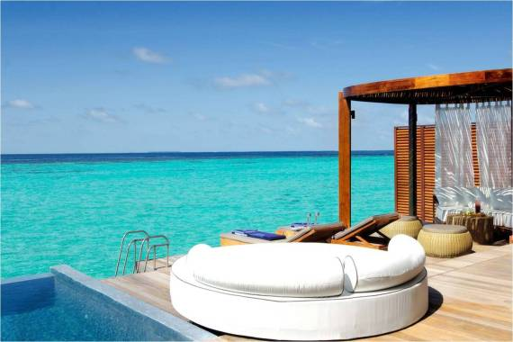 hermosa imagen de casa en el mar