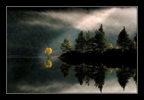 hermosa fotografia de paisaje natural