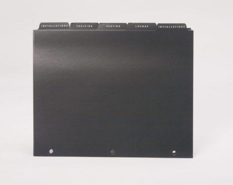 Custom 3 Ring Binder Index Tabs Divider Sheets