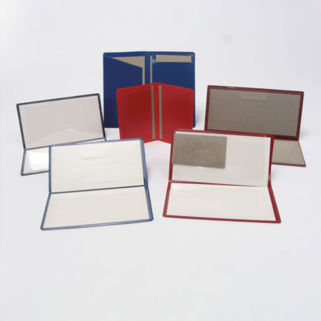 Bank Document and Checkbook Covers
