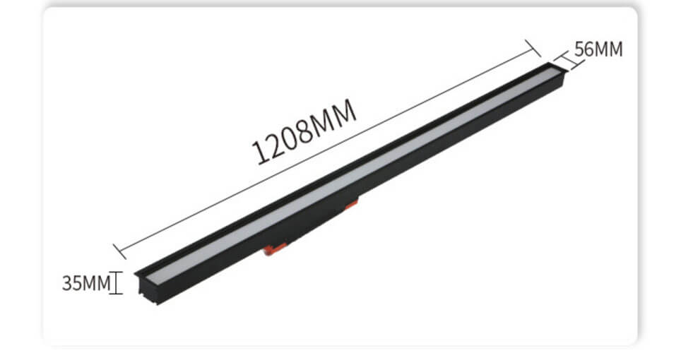 recessed linear office led general