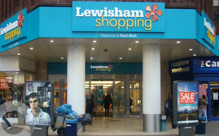 Image result for lewisham shopping centre