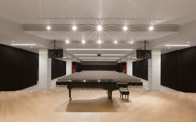 Vancouver Academy of Music (Koerner Recital Hall & Lobby) – Vancouver, BC