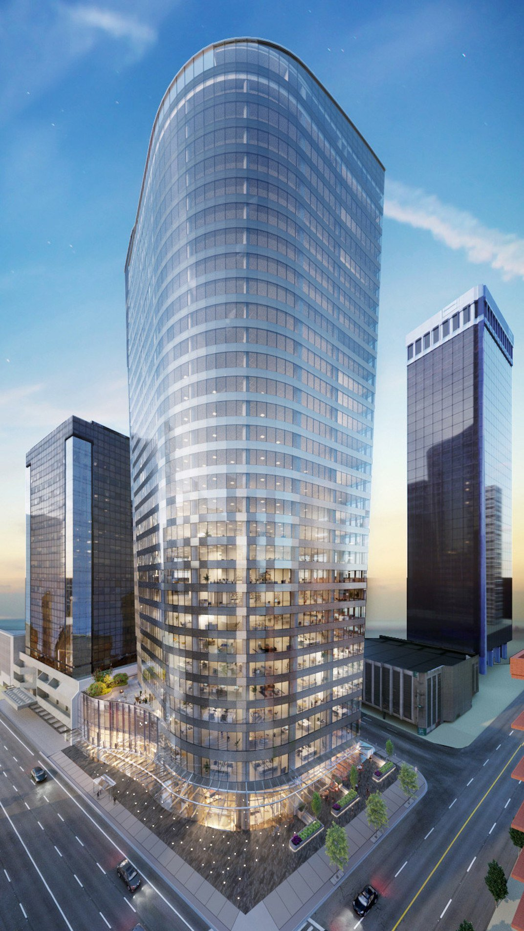 Bentall Office Tower expansion downtown Vancouver