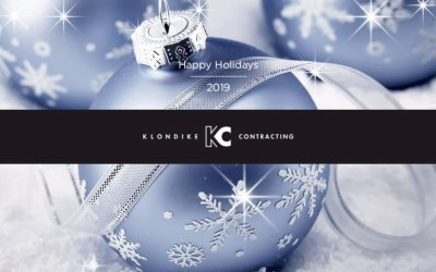 Happy Holidays 2019 from Klondike Contracting!
