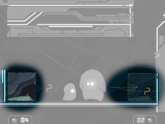 Wall drawing in prototype 3 of the game