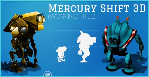 Mercury Shift 3D(Working title) banner