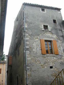 Haus von hinten