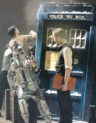 Smoking Cyberman