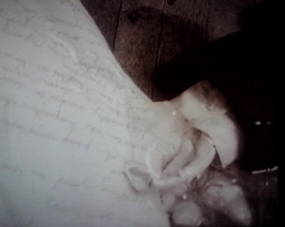 Note in hand
