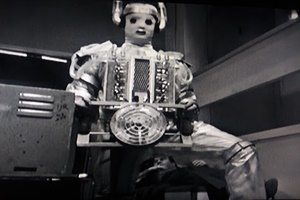 Mr Cyberman, are you trying to seduce me?