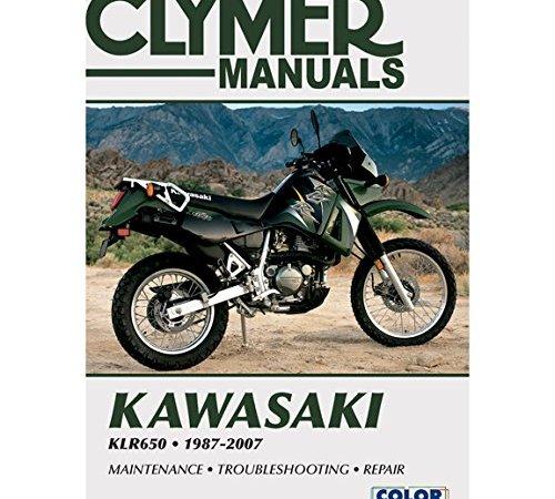 Clymer 87 07 Kawasaki Klr650 Service Manual Kawasaki Klr 650 Dual Sport