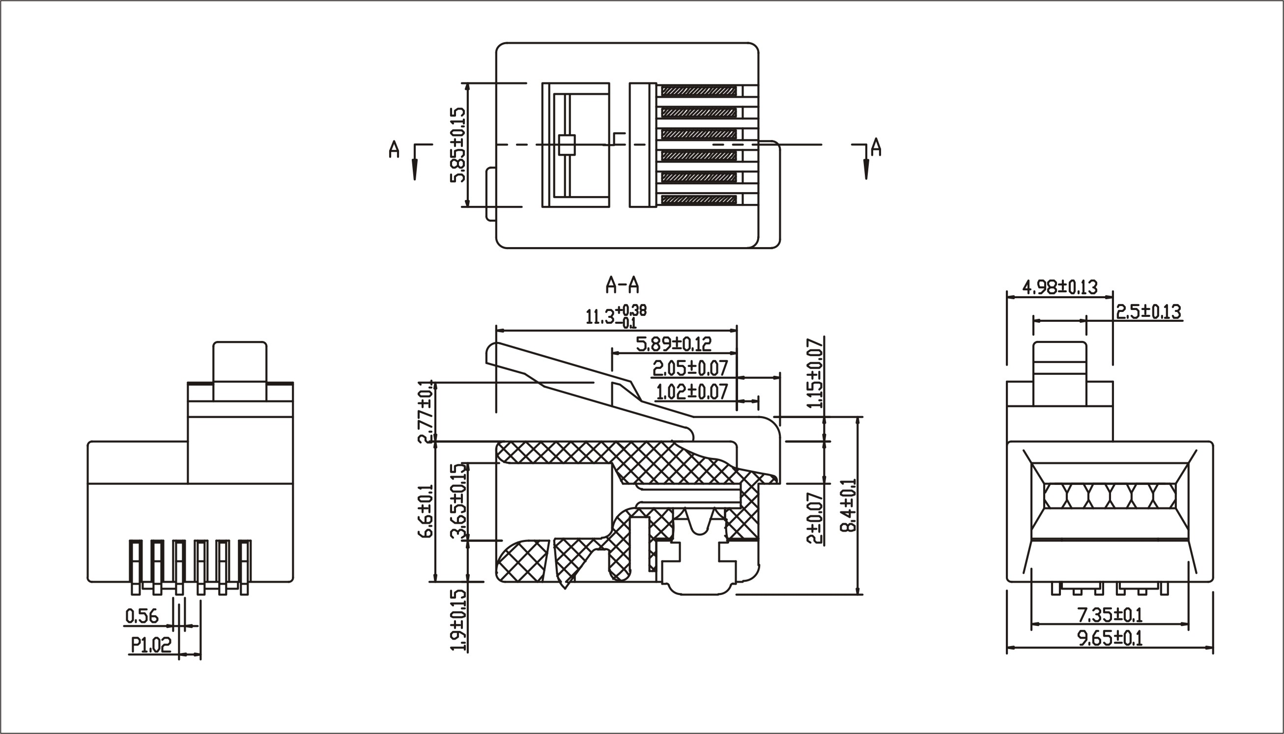 Male Rj11 Jack Wiring Diagram