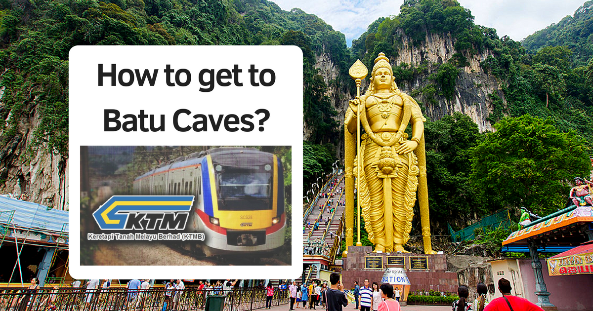How to travel from KL Sentral to Batu Caves