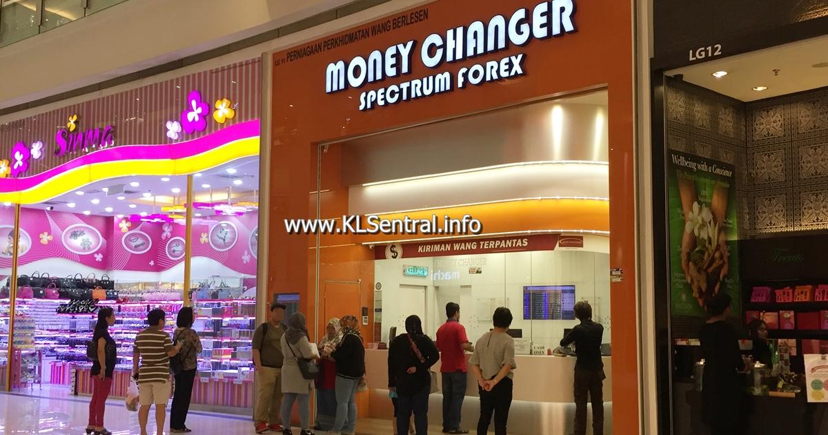 Spectrum Forex Money Changer Kl Sentral