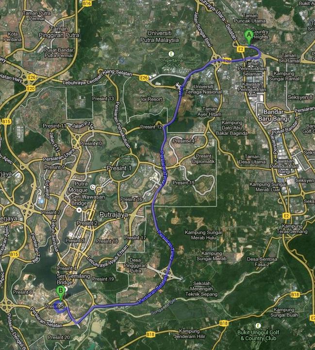 Utara-Selatan-PLUS-Expressway-E2-to-Kajang-toll
