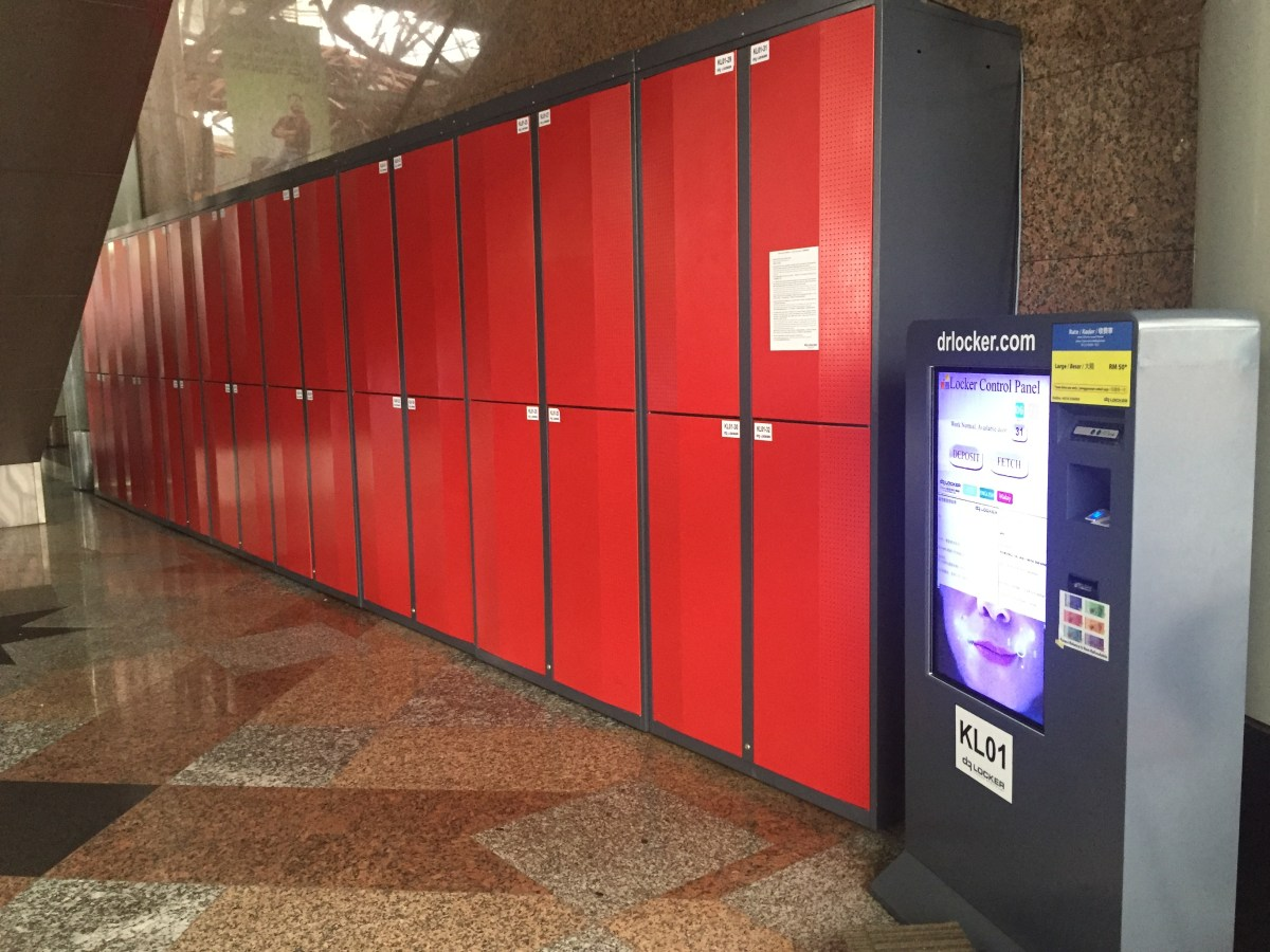 KL Sentral Luggage Storage / Locker