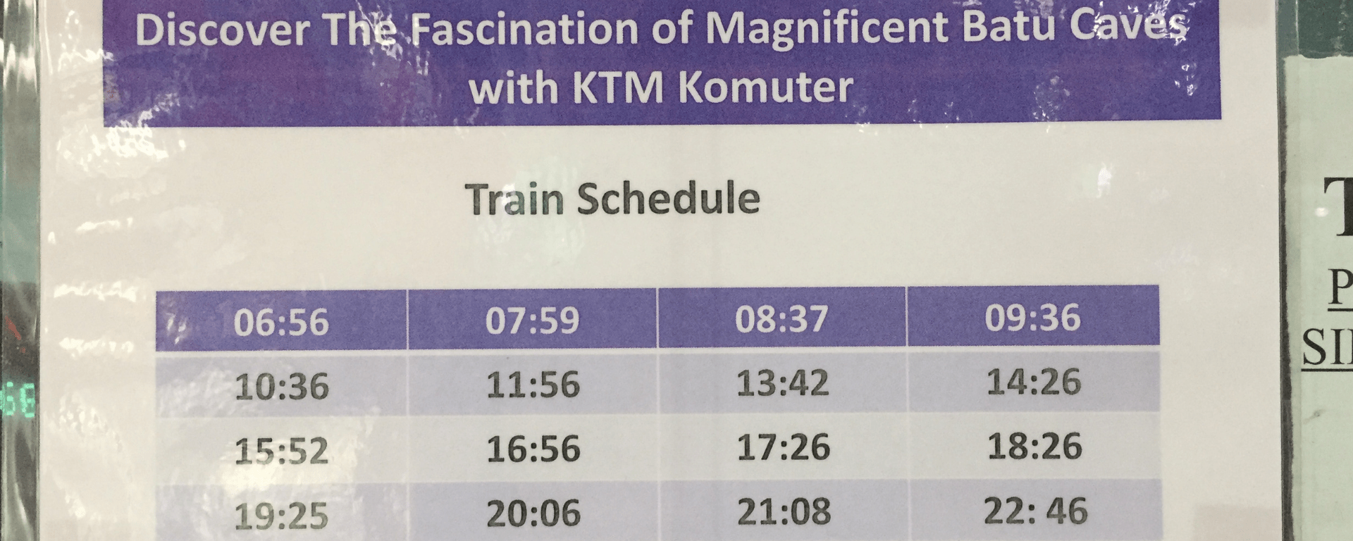 KL-Sentral-to-Batu-Caves-KTM-Komuter-Timetable-Jan-2019