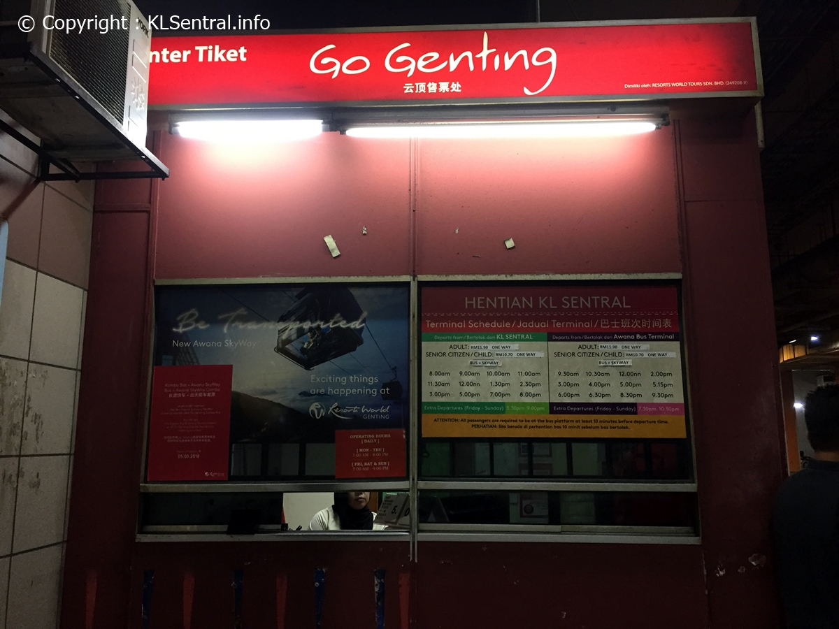 Go-Genting-Bus-Ticket-Counter-Basement-KL-Sentral