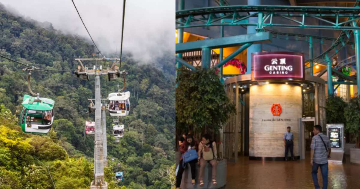 How to travel from KL Sentral to Genting?